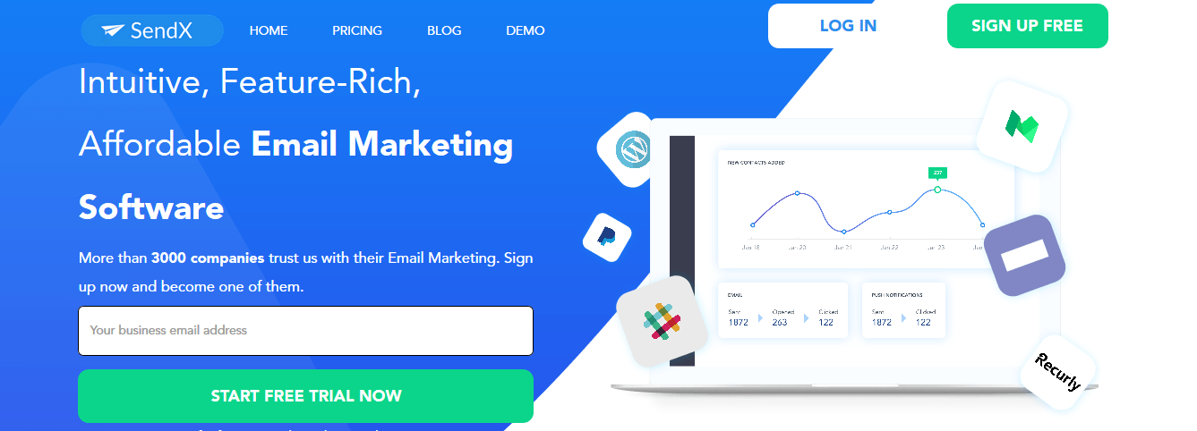SendX Reviews and Rating - Pricing, Features, Details, Benefits