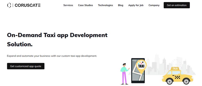 Top Taxi App Development Companies of 2019 - SoftwareWorld