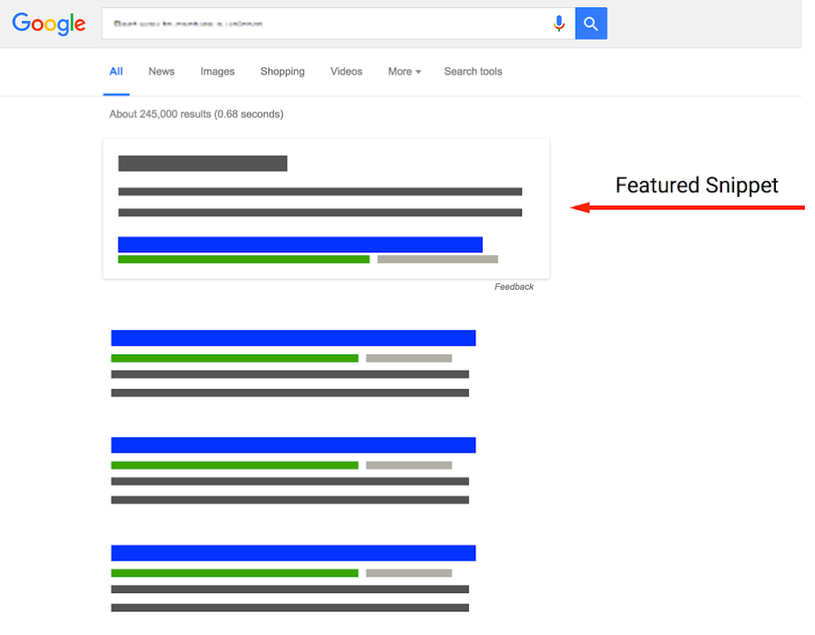 Google Featured Snippets 1