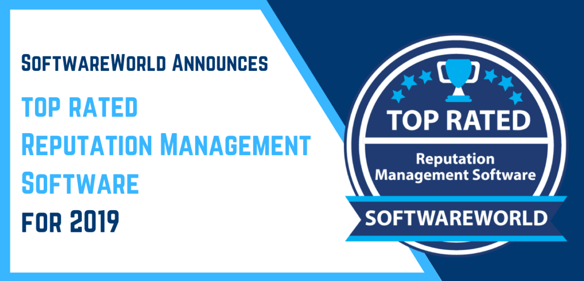 Top Rated Reputation Management Software