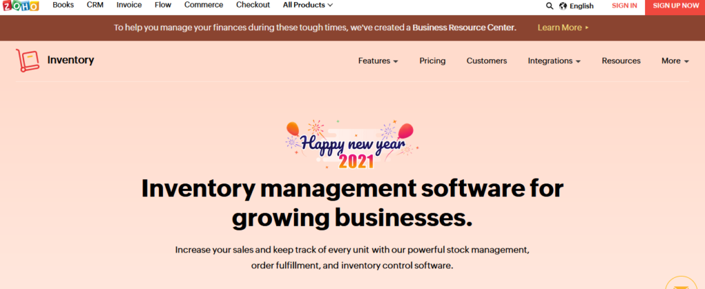 Zoho-inventory-best-inventory-management-software