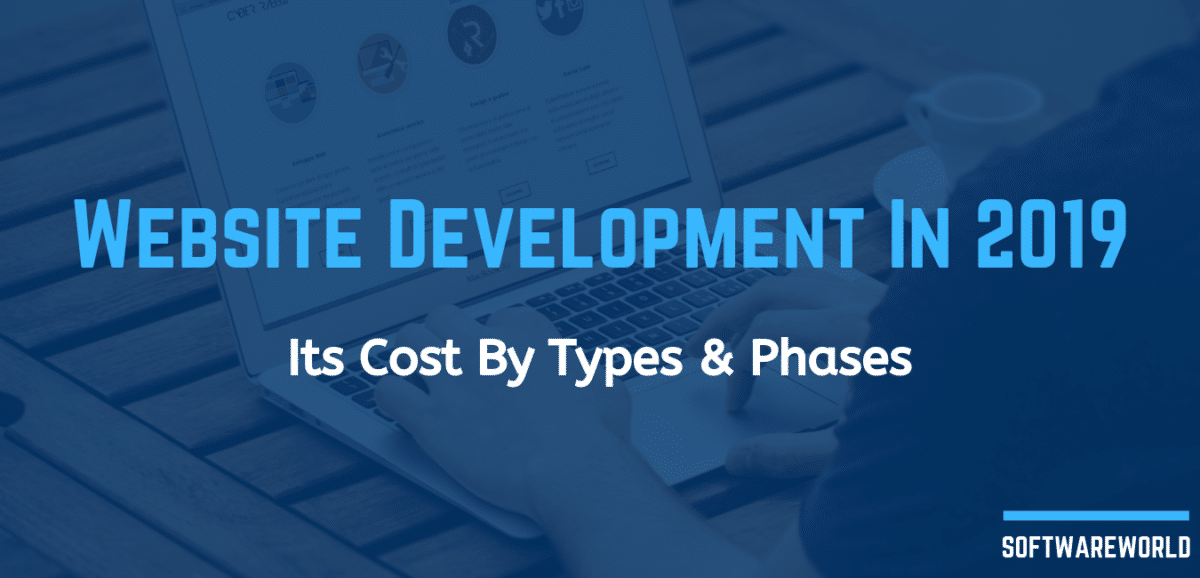Website Development In 2019 Its Cost By Types and Phases