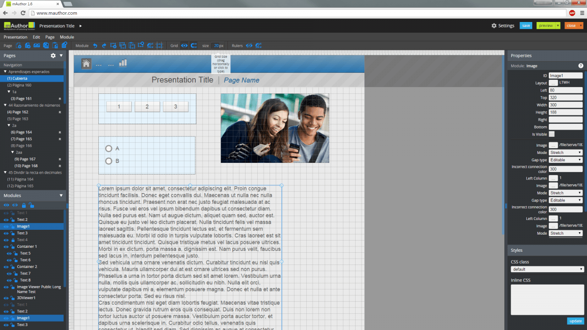 Learnetic mAuthor