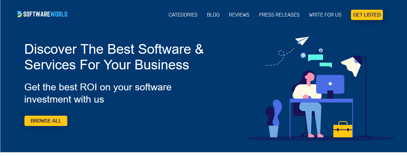 SoftwareWorld Top Review Site