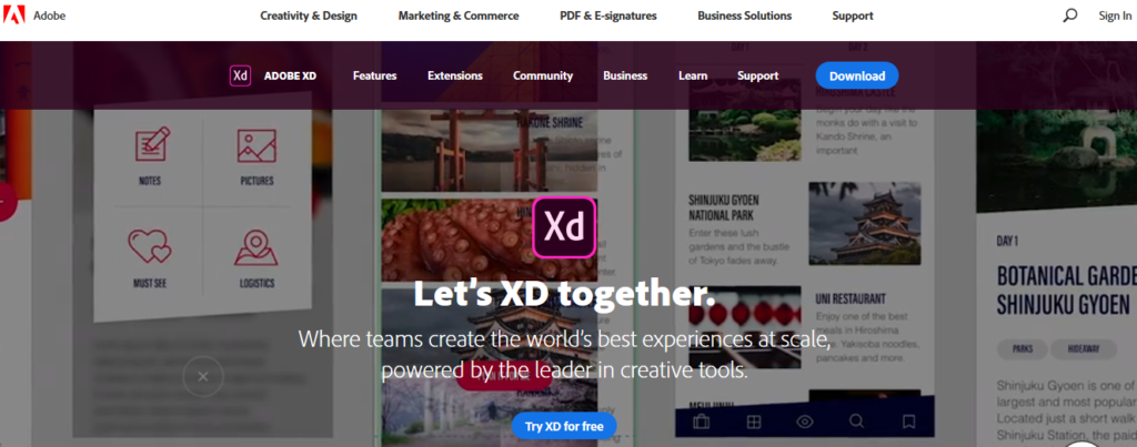 Adobe_XD Software