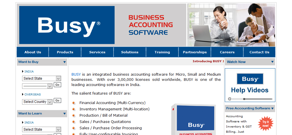 Busy Accounting Top Accounting Software India