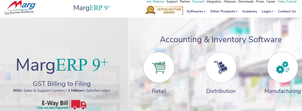 Marg Top Accounting Software India