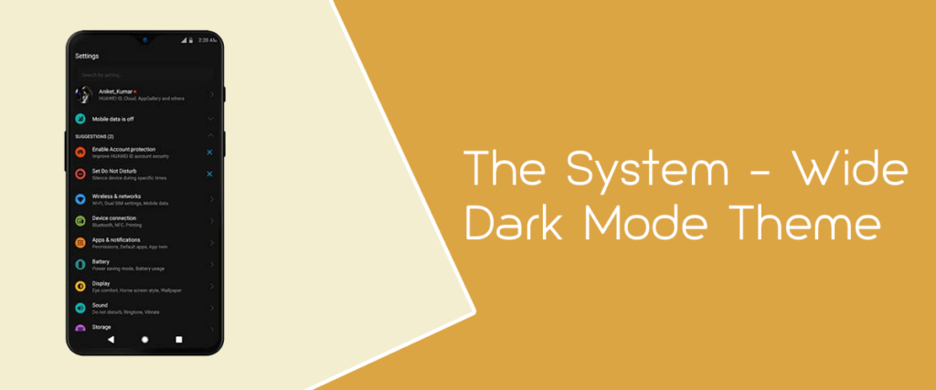 The System-Wide Dark Mode Theme