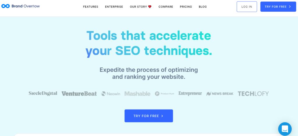 Brand Overflow best seo software