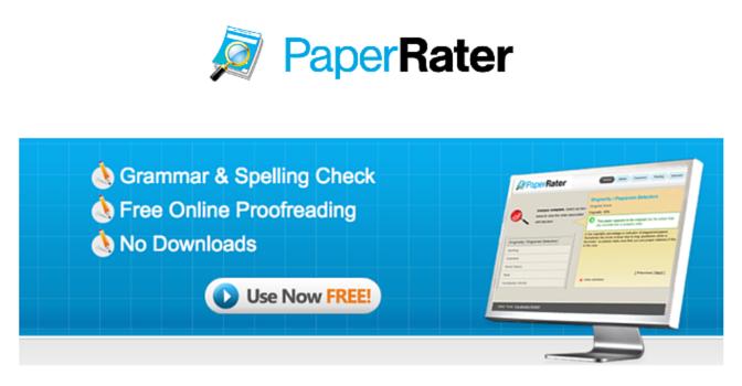 PaperRater-best-Grammar-check-software