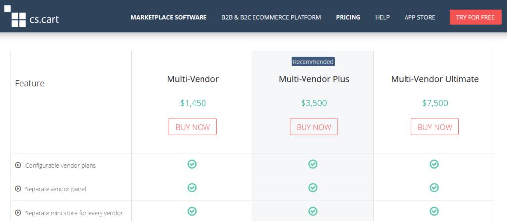 Cs-Cart Multi-Vendor Software