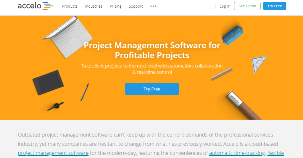 SoftwareWorld: Top 30+ Best Project Management Software & Tools of 2021 - Accelo