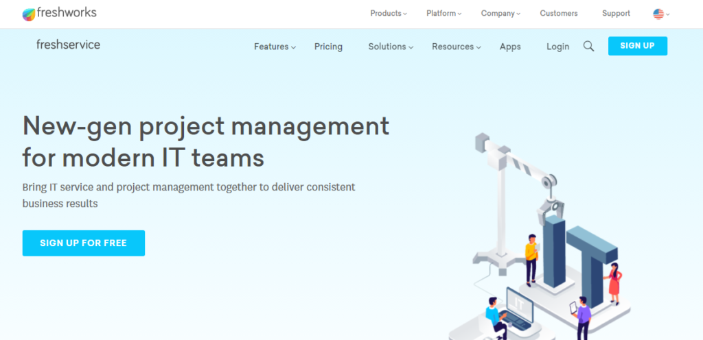 SoftwareWorld: Top 30+ Best Project Management Software & Tools of 2021 - Freshservice