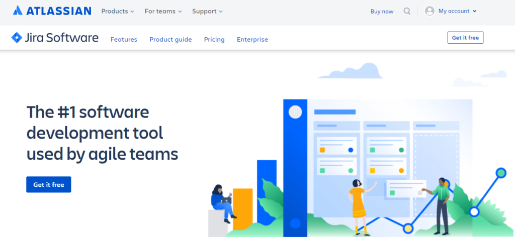 SoftwareWorld: Top 30+ Best Project Management Software & Tools of 2021 - Jira software