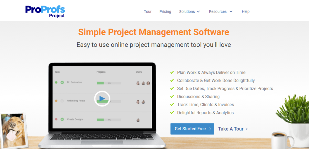 SoftwareWorld: Top 30+ Best Project Management Software & Tools of 2021 - ProProfs Project