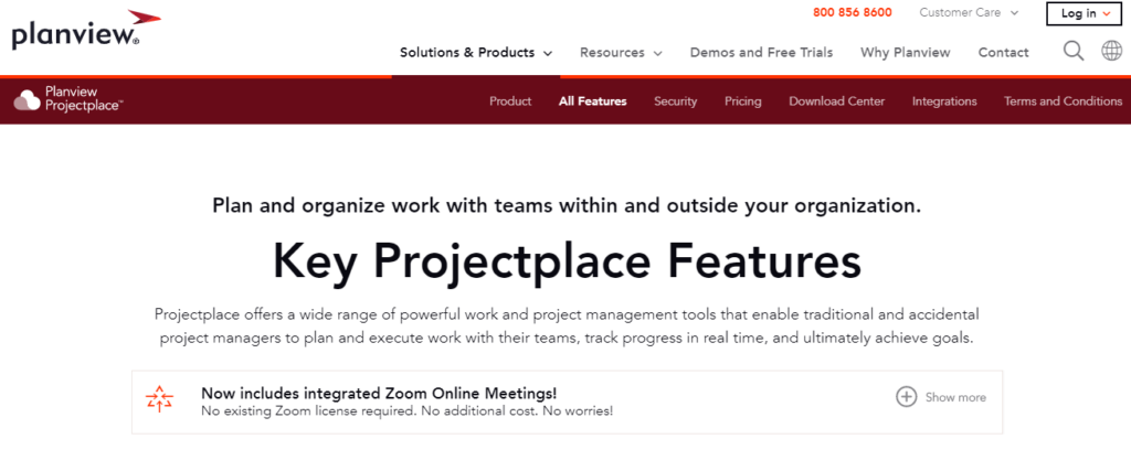 SoftwareWorld: Top 30+ Best Project Management Software & Tools of 2021 - ProjectPlace