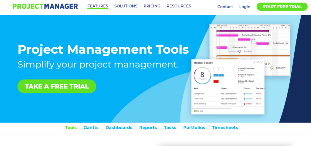 SoftwareWorld: Top 30+ Best Project Management Software & Tools of 2021 - Projectmanager.com