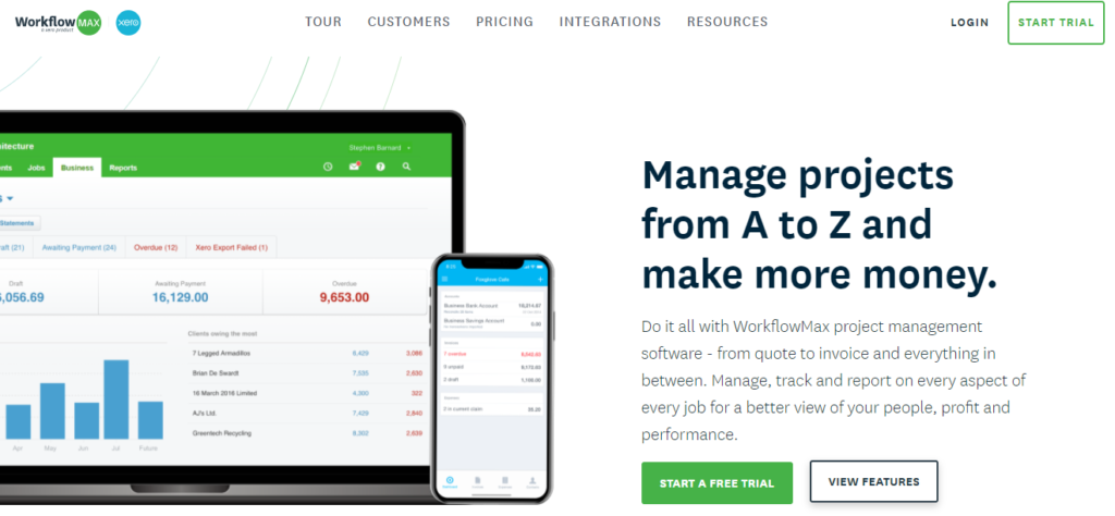 SoftwareWorld: Top 30+ Best Project Management Software & Tools of 2021 - Workflow Max