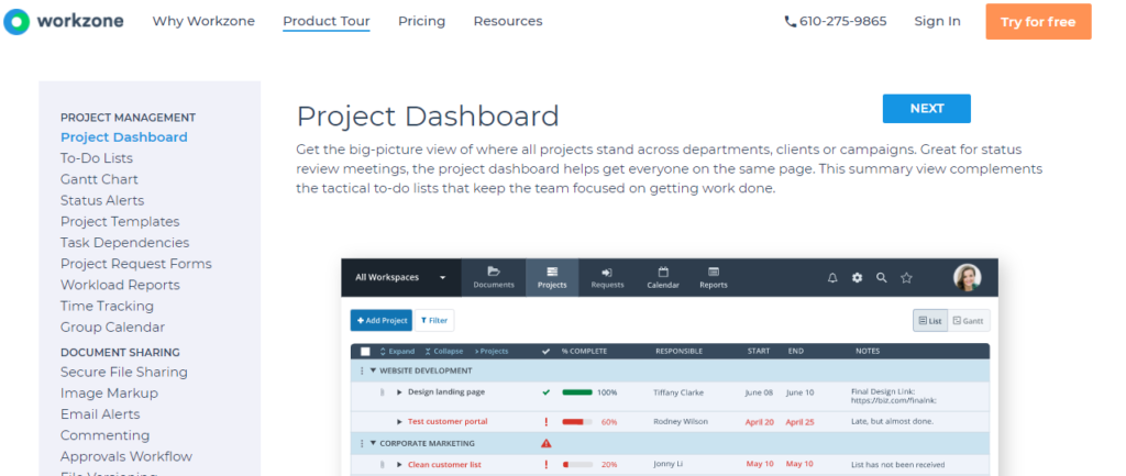 SoftwareWorld: Top 30+ Best Project Management Software & Tools of 2021 - Workzone