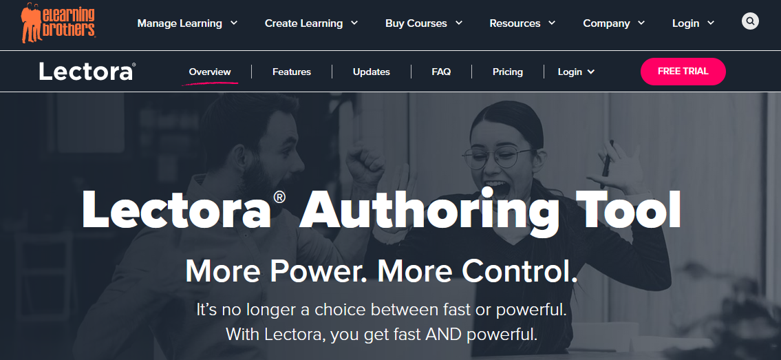 Lectora Online best eLearning Software
