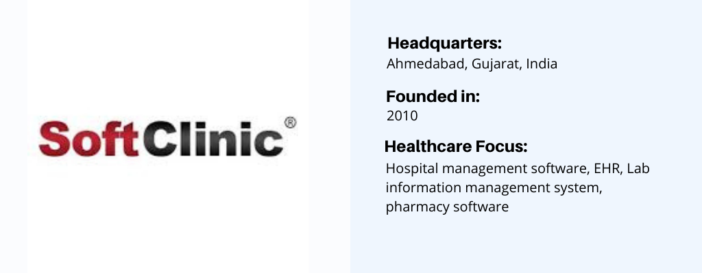 SoftClinic-top-healthcare software development company