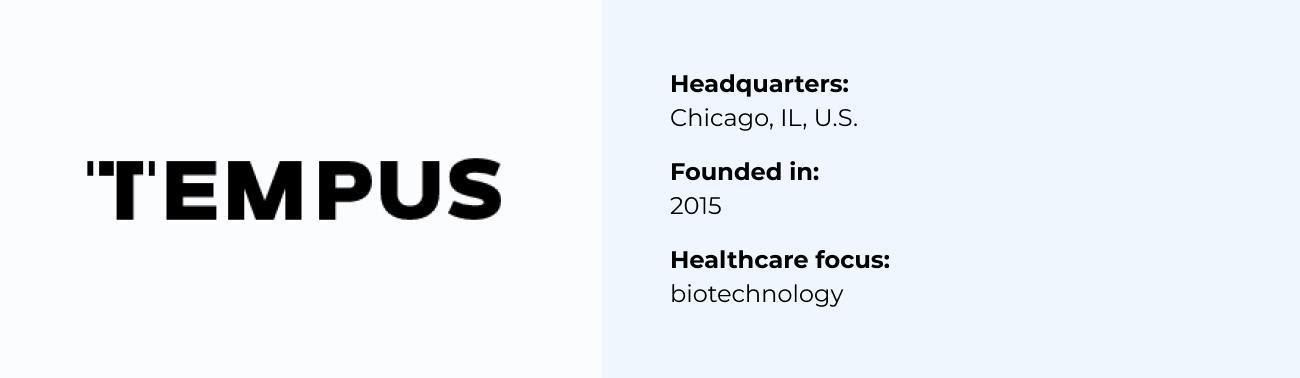 Tempus best Healthcare Software Company