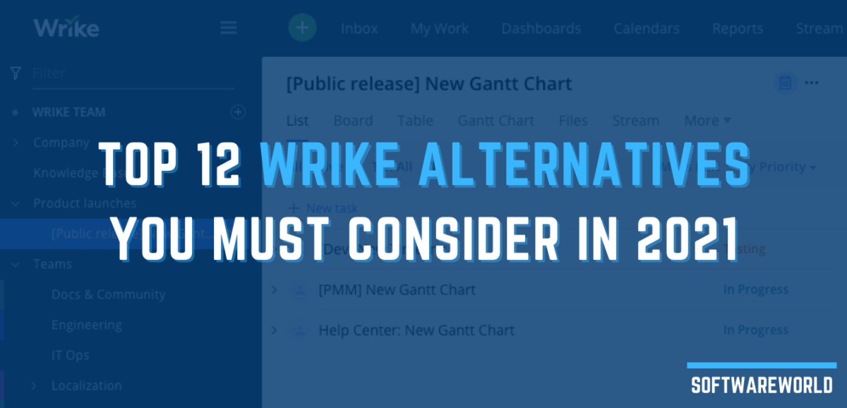 Top 12 Wrike Alternatives You Must Consider In 2021