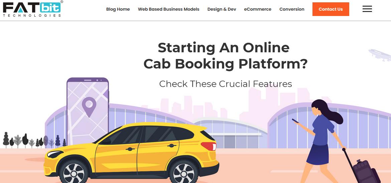 Fatbit-taxi-app-development-company