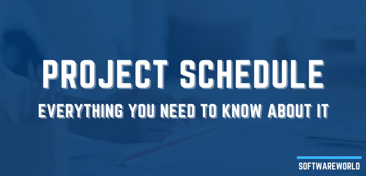What is a project schedule for industrial projects