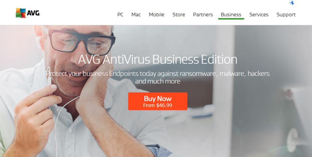 AVG Antivirus Business Edition best Computer Security Software