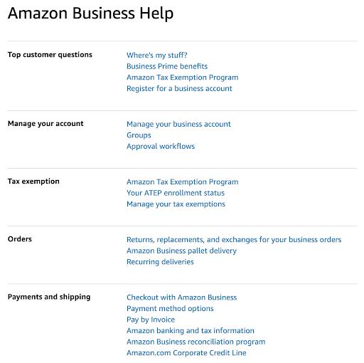 Amazon Business Help best ecommerce marketing Strategy