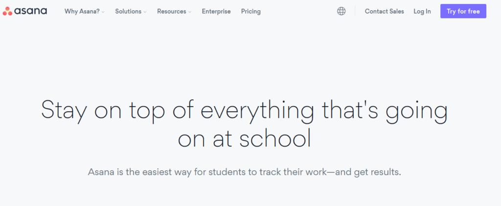Asana-education-project-mangement-software