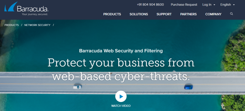 Barracuda Web Security Gateway best Computer Security Software