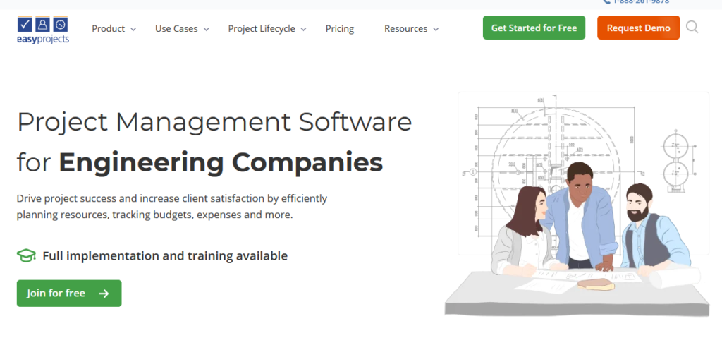 Easyproject Engineering Project Management Software