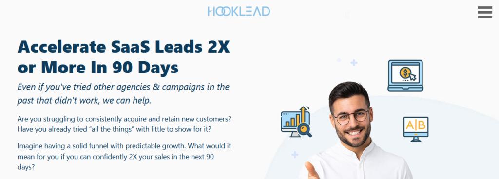 Hooklead-top-saas-marketing-agency