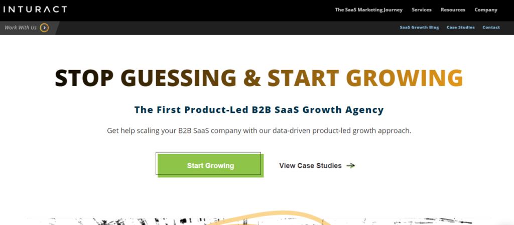 Inturact-top-saas-marketing-agency