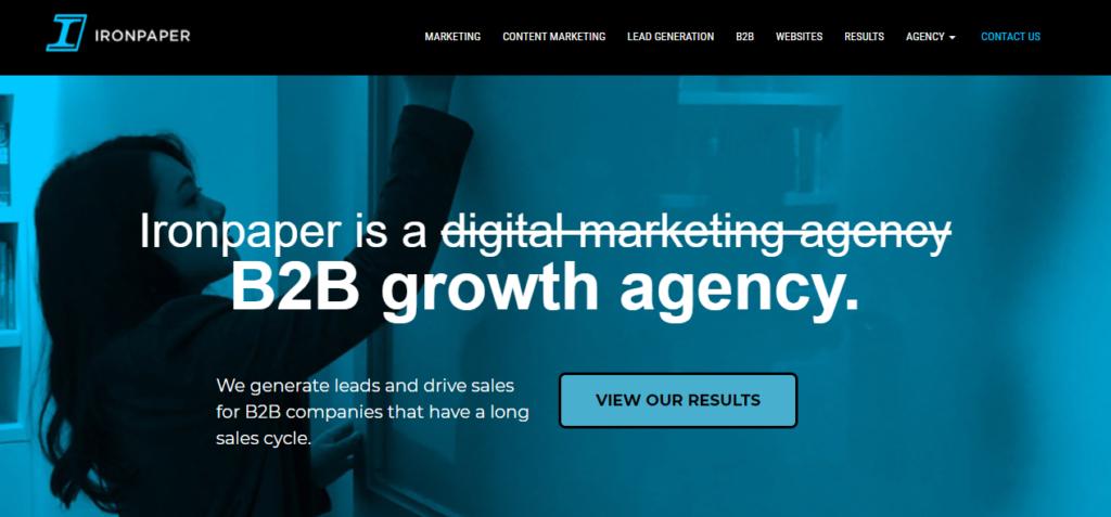 IronPaper-top-saas-marketing-agency