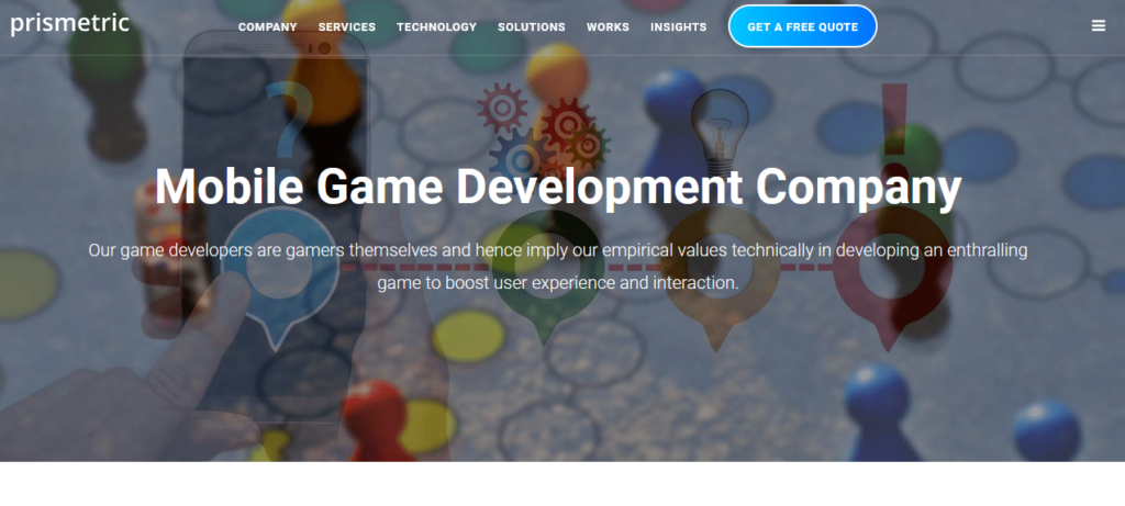 Prismetric-top-game-development-company