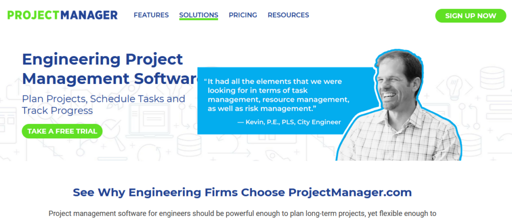 ProjectManager Engineering Project Management Software