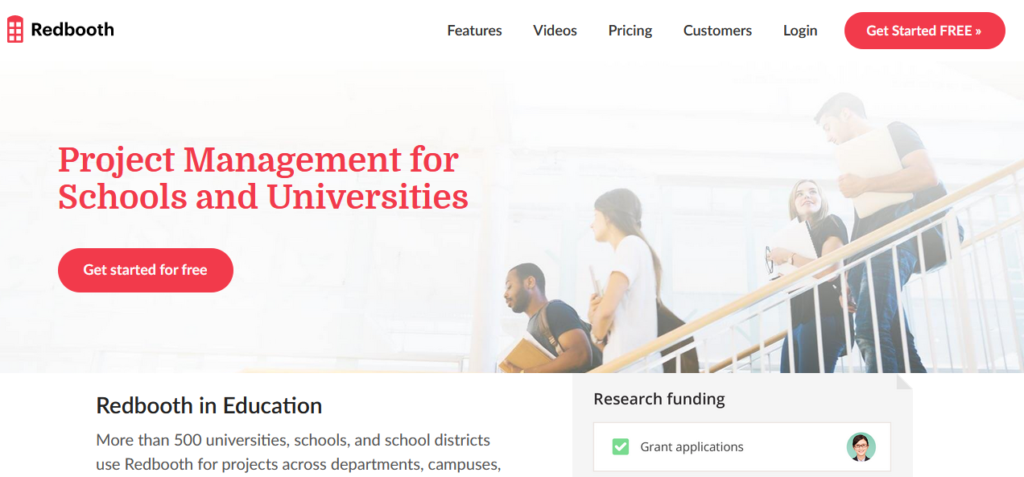 Redbooth-education-project-mangement-software