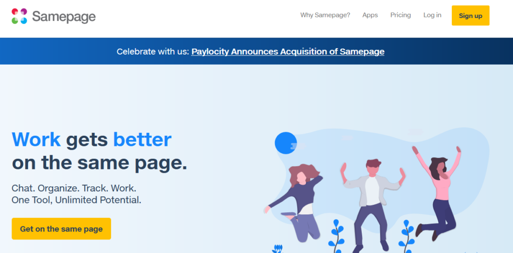 Samepage-best-software-for-productivity