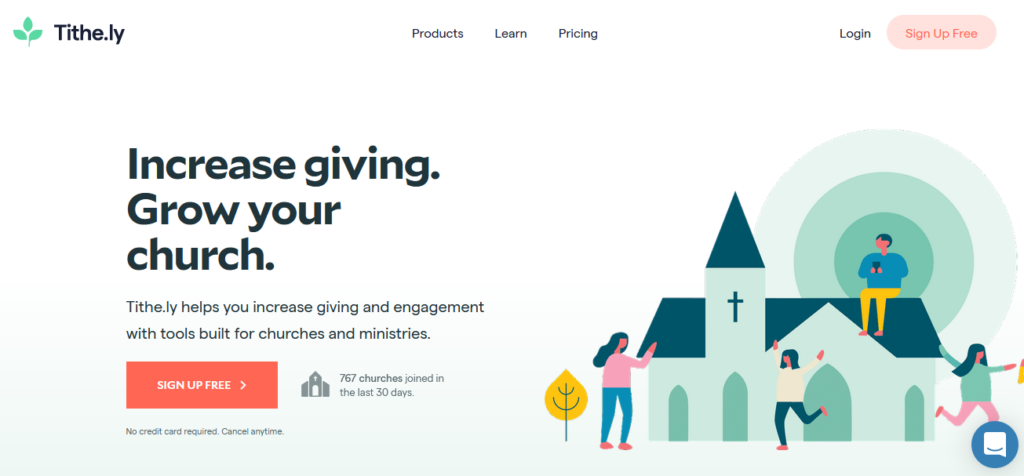 Tithely-church-management-software