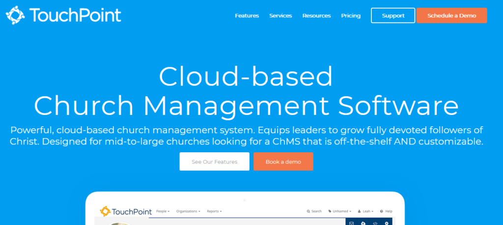 TouchPoint-church-management-software