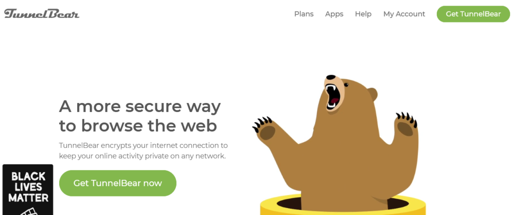TunnelBear best Computer Security Software