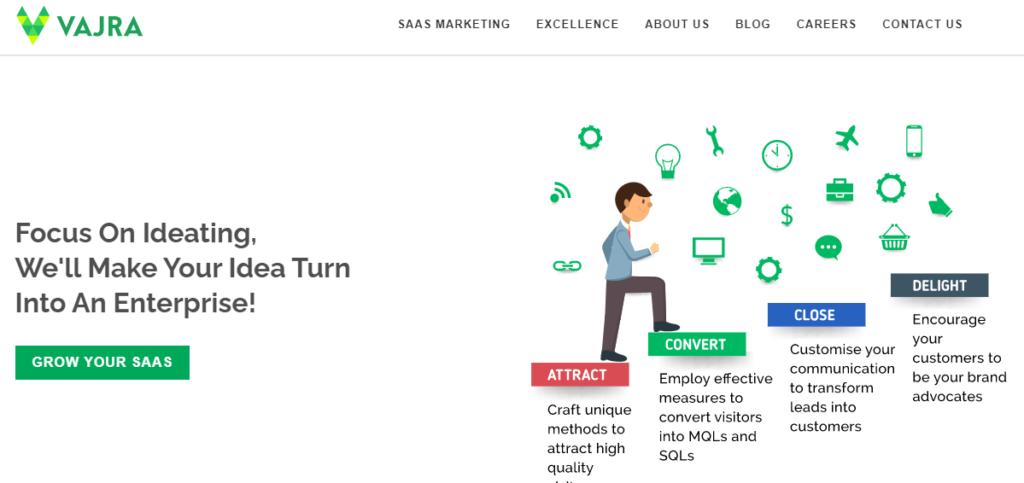 Vajra-top-saas-marketing-agency