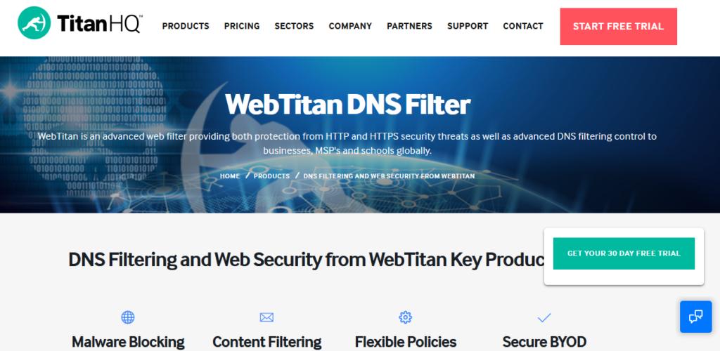 Webtitan best Computer Security Software