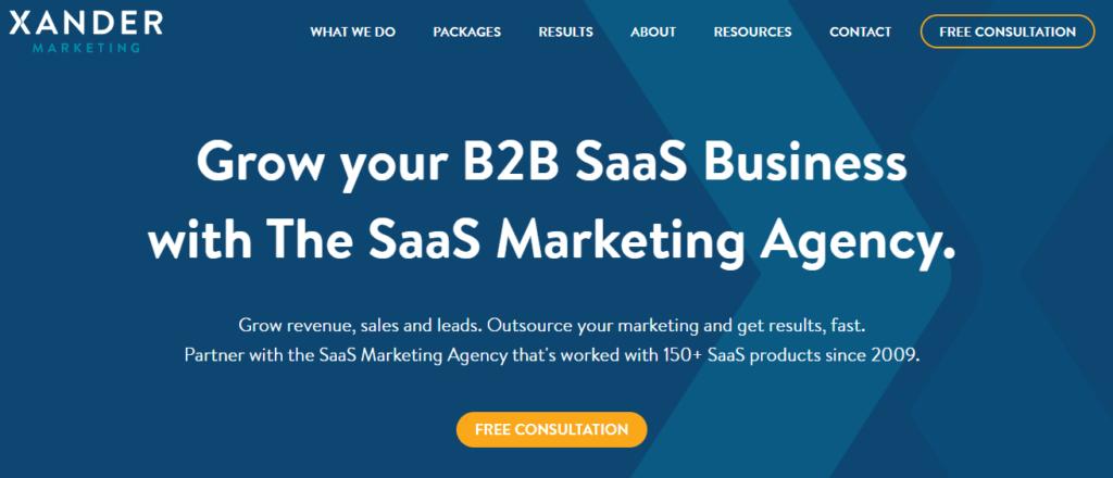 Xander-top-saas-marketing-agency