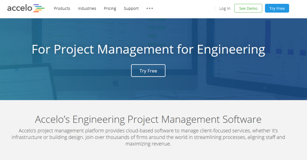 accelo Engineering Project Management Software