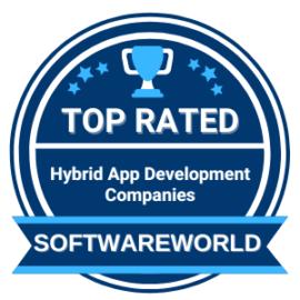 list of top Hybrid app development companies