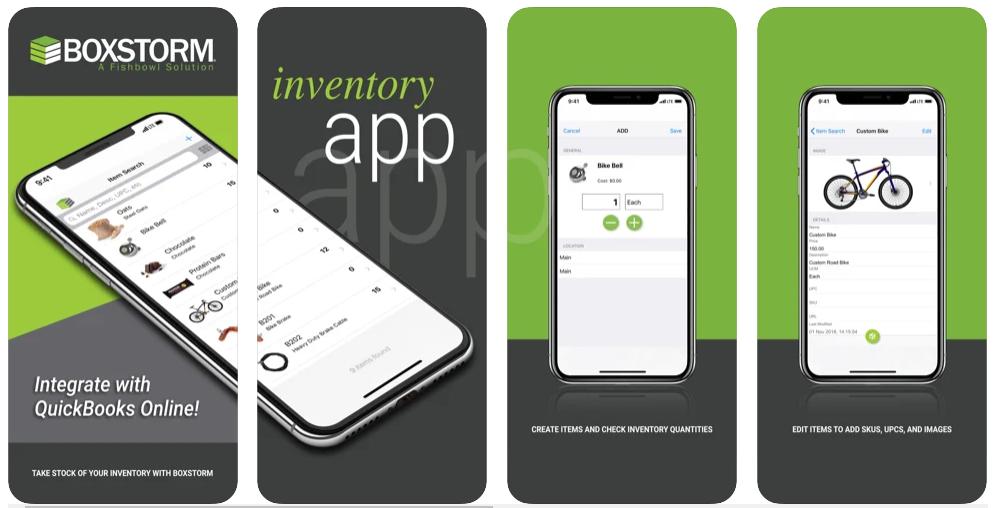 BoxStorm Inventory App